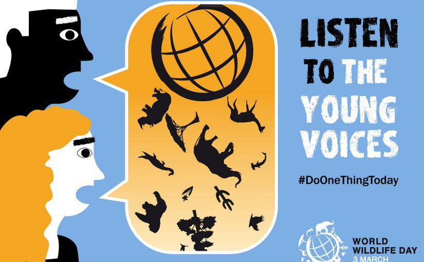 World Wildlife Day: Ooh! Call on me! Call on me!
