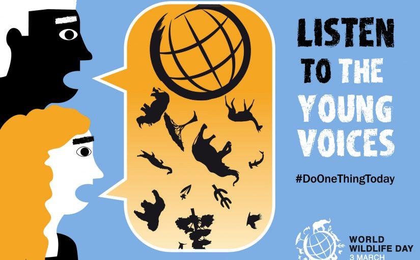 World Wildlife Day: Ooh! Call on me! Call on me!